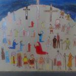 56. Húsvéti projektmunkánk, amit a 3. a-val közösen készítettünk