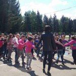 77. Április 29.- A Tánc Világnapja- Össztánc az iskolánk udvarán